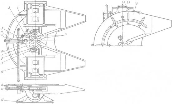 Схема седельно сцепное устройство схема